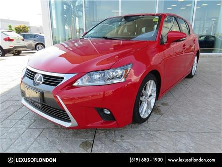 2014 Lexus CT 200h Base (Stk: Z3601) in London - Image 1 of 12