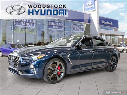 2019 Genesis G70 3.3T Sport (Stk: HD19020) in Woodstock - Image 1 of 27