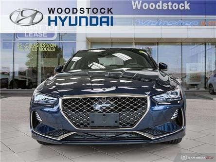 2019 Genesis G70 3.3T Sport (Stk: HD19020) in Woodstock - Image 2 of 27