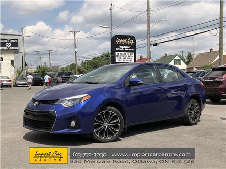 2014 Toyota Corolla S (Stk: 014649) in Ottawa - Image 1 of 26