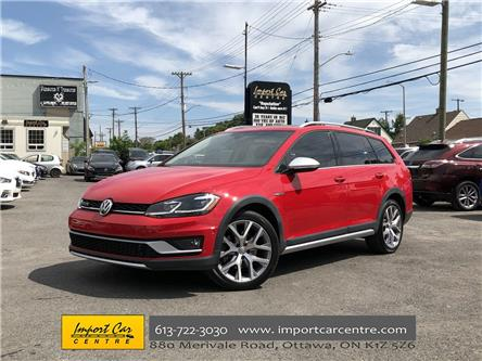 2018 Volkswagen Golf Alltrack 1.8 TSI (Stk: 760265) in Ottawa - Image 1 of 26