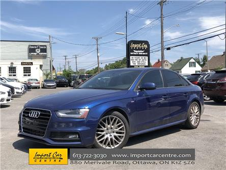 2015 Audi A4 2.0T Komfort plus (Stk: 037513) in Ottawa - Image 1 of 24