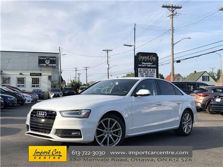 2015 Audi A4 2.0T Progressiv (Stk: 005599) in Ottawa - Image 1 of 26