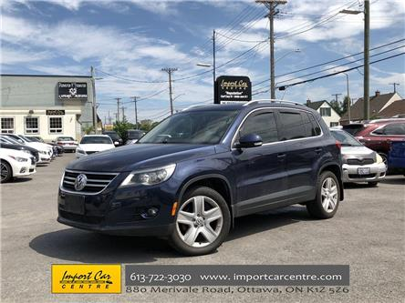 2011 Volkswagen Tiguan 2.0 TSI Highline (Stk: 526487) in Ottawa - Image 1 of 26