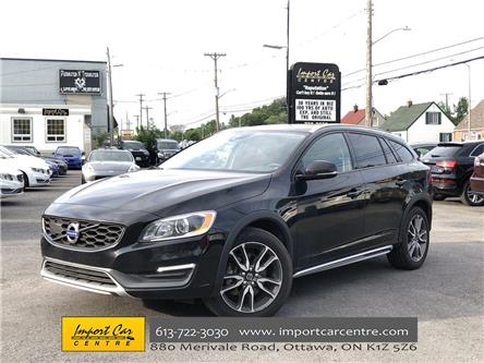 2016 Volvo V60 Cross Country T5 Premier (Stk: 008472) in Ottawa - Image 1 of 26