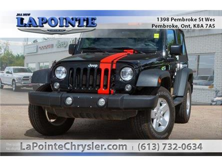 2017 Jeep Wrangler Sport (Stk: 19219B) in Pembroke - Image 1 of 20