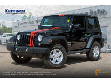 2017 Jeep Wrangler Sport (Stk: 19219B) in Pembroke - Image 2 of 20