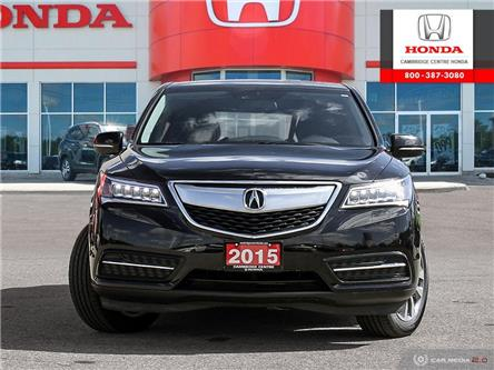 2015 Acura MDX Navigation Package (Stk: U4969) in Cambridge - Image 2 of 27