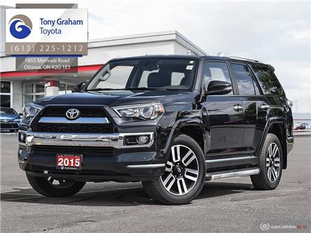 2015 Toyota 4Runner SR5 V6 (Stk: E7919) in Ottawa - Image 1 of 29
