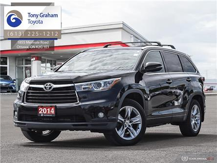 2014 Toyota Highlander Limited (Stk: D11592A) in Ottawa - Image 1 of 30