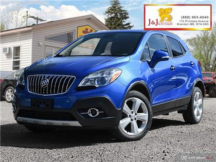 2015 Buick Encore Leather (Stk: J19085) in Brandon - Image 1 of 27