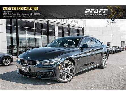 2018 BMW 430i xDrive Gran Coupe  (Stk: 22469AA) in Mississauga - Image 1 of 22