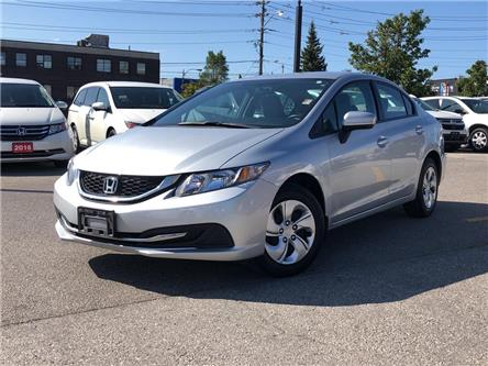 2015 Honda Civic LX (Stk: 58630DA) in Scarborough - Image 1 of 21