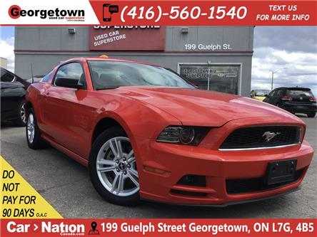 2014 Ford Mustang V6 | 6 SPEED | POWER GROUP | FOGS | HOT RED COLOR (Stk: P12417A) in Georgetown - Image 1 of 21
