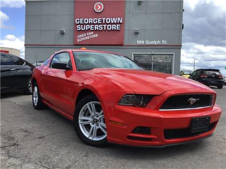 2014 Ford Mustang V6 | 6 SPEED | POWER GROUP | FOGS | HOT RED COLOR (Stk: P12417A) in Georgetown - Image 2 of 21