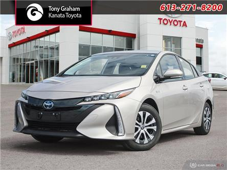 2020 Toyota Prius Prime Upgrade (Stk: 89757) in Ottawa - Image 1 of 27