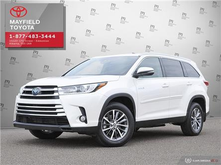 2019 Toyota Highlander Hybrid XLE (Stk: 1902065A) in Edmonton - Image 1 of 27