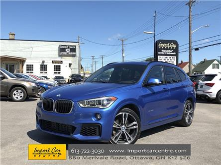 2016 BMW X1 xDrive28i (Stk: F67495) in Ottawa - Image 1 of 24