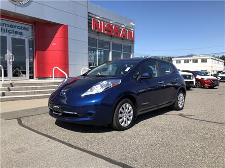 2017 Nissan LEAF S (Stk: N19-0111P) in Chilliwack - Image 1 of 11