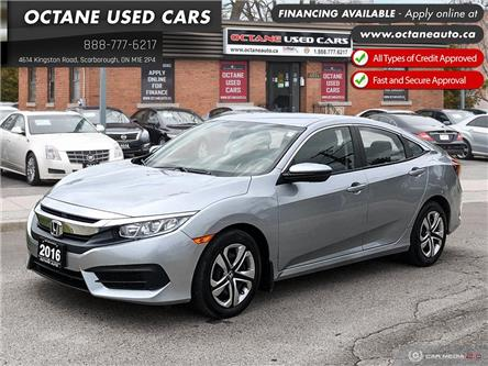 2016 Honda Civic LX (Stk: ) in Scarborough - Image 1 of 24