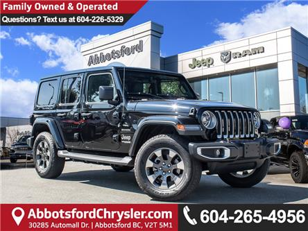 2018 Jeep Wrangler Unlimited Sahara (Stk: K544028A) in Abbotsford - Image 1 of 29