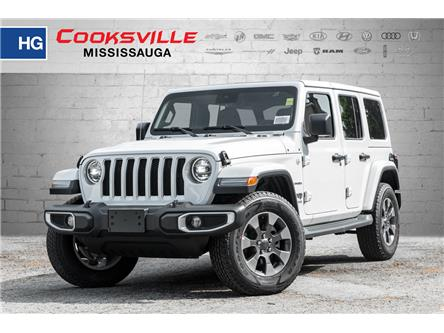 2019 Jeep Wrangler Unlimited Sahara (Stk: KW638196) in Mississauga - Image 1 of 19