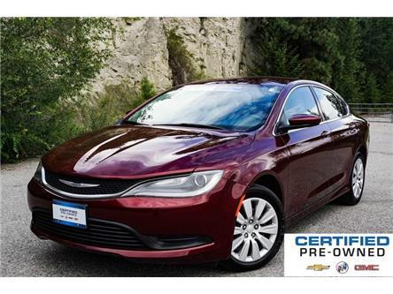 2016 Chrysler 200 LX (Stk: 9356B) in Penticton - Image 1 of 19