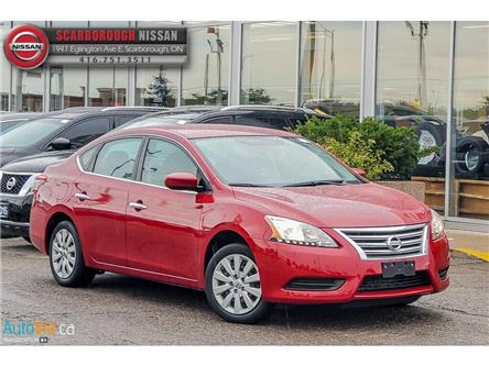2014 Nissan Sentra 1.8 S (Stk: D19092A) in Scarborough - Image 1 of 27