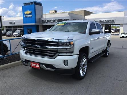 2018 Chevrolet Silverado 1500 High Country (Stk: J164A) in Grimsby - Image 1 of 15