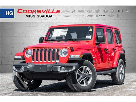 2018 Jeep Wrangler Unlimited Sahara (Stk: JW194099) in Mississauga - Image 1 of 17