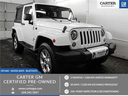 2014 Jeep Wrangler Sahara (Stk: P9-59290) in Burnaby - Image 1 of 23