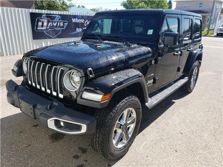 2019 Jeep Wrangler Unlimited Sahara (Stk: 15742) in Fort Macleod - Image 1 of 21