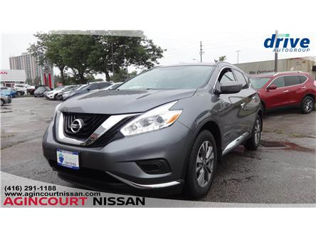 2017 Nissan Murano S (Stk: U12600) in Scarborough - Image 1 of 17
