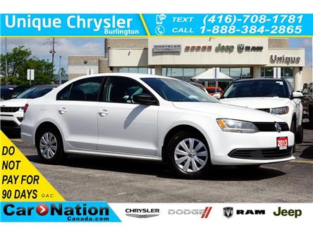 2013 Volkswagen Jetta TRENDLINE+| HEATED SEATS| AC & MORE (Stk: K245A) in Burlington - Image 1 of 40