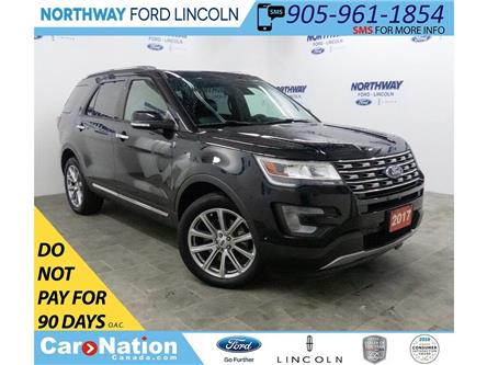 2017 Ford Explorer Limited | AWD | NAV | LEATHER | PANOROOF | 3 ROW (Stk: EG91312A) in Brantford - Image 1 of 48