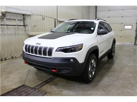 2019 Jeep Cherokee Trailhawk (Stk: KT110) in Rocky Mountain House - Image 1 of 30
