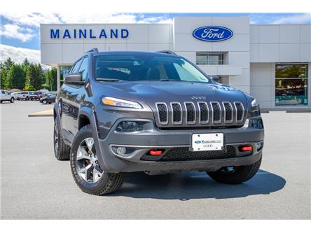 2018 Jeep Cherokee Trailhawk (Stk: P6280) in Vancouver - Image 1 of 27