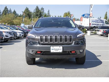 2018 Jeep Cherokee Trailhawk (Stk: P6280) in Vancouver - Image 2 of 27