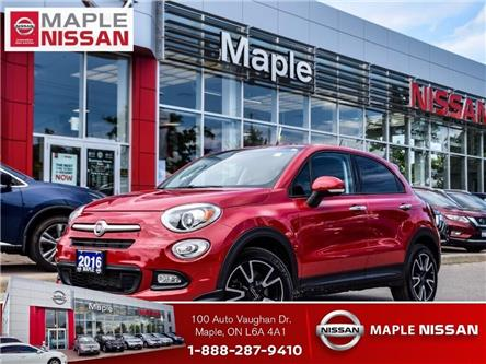 2016 Fiat 500X Alloys,Push Start,Heated Seats, Low Mileage! (Stk: LM388) in Maple - Image 1 of 25