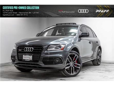 2017 Audi SQ5 3.0T Dynamic Edition (Stk: 53362) in Newmarket - Image 1 of 22