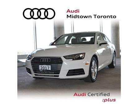 2017 Audi A4 2.0T Komfort (Stk: P7370) in Toronto - Image 1 of 24