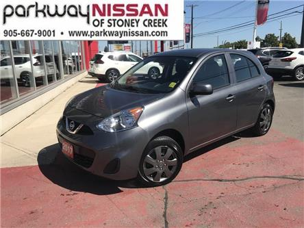 2017 Nissan Micra SV (Stk: N19503AB) in Hamilton - Image 1 of 12