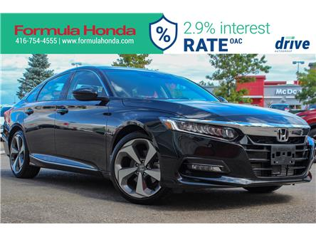 2019 Honda Accord Touring 1.5T (Stk: 19-2284A) in Scarborough - Image 1 of 35