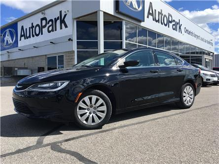 2016 Chrysler 200 LX (Stk: 16-19862JB) in Barrie - Image 1 of 23