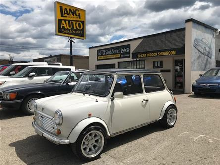 1995 MINI CLASSIC BRITISH COUPE 4 SPEED! AC! (Stk: 02615) in Etobicoke - Image 1 of 18