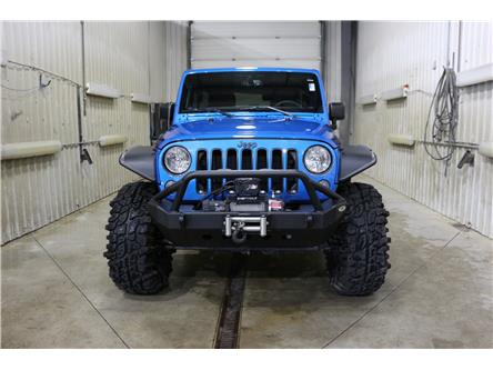 2016 Jeep Wrangler Unlimited Sahara (Stk: JT133A) in Rocky Mountain House - Image 2 of 29