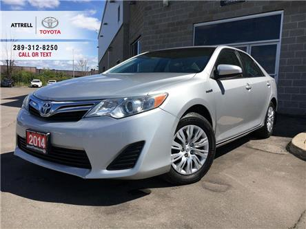 2014 Toyota Camry Hybrid LE BACK UP CAMERA, PUSH BUTTON START, ABS, USB, SM (Stk: 8649B) in Brampton - Image 1 of 25