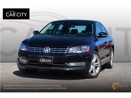 2013 Volkswagen Passat 2.0 TDI Highline (Stk: 2666) in Ottawa - Image 1 of 20