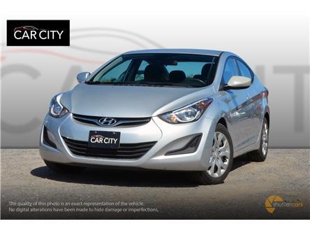 2015 Hyundai Elantra GL (Stk: ) in Ottawa - Image 1 of 20