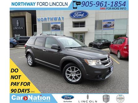 2018 Dodge Journey GT | AWD | HTD LEATHER | 3 ROW | PUSH START | (Stk: DR243) in Brantford - Image 1 of 46
